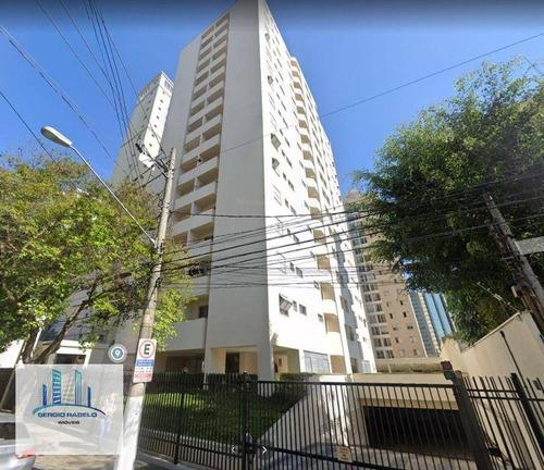 Imagem 1 de 8 de Apartamento Com 1 Dormitório Para Alugar, 50 M² Por R$ 2.000,00/ano - Moema - São Paulo/sp - Ap0288