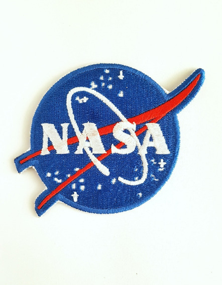 Nasa 8cm Parches Bordados