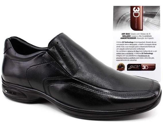 Sapato Social Masculino Couro Legítimo Jota Pe 71450 Pixolé