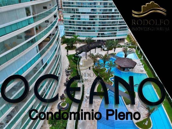 Apartamento Ed Oceano 2 Dormitórios À Venda, 97 M² Por R$ 650.000 - Praia Das Astúrias - Guarujá/sp - Ap1066