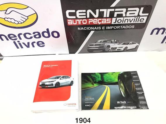 Manual Proprietario Toyota Corolla 2017 2018