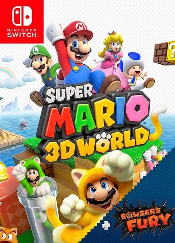Super Mario 3d World + Bowser Fury Digital Nintendo Switch