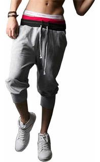 Pants 3/4 Moda Japonesa Capri Asiatico Corto Envio Gratis