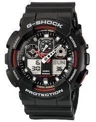 Relogio Casio G-shock Ga-100-1a4 Em 12x S/juros