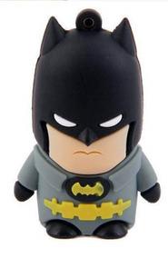 Pen Drive Personalizado Desenho Personagens 16 Gb Herois Bat
