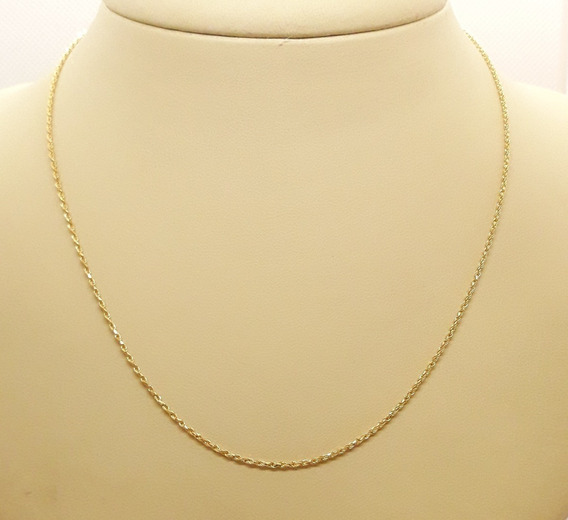 Corrente Ouro 18k 750 Corda 40cm 2,54g