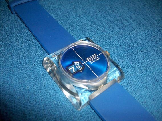Buler Reloj Suizo Vintage Retro Coleccion