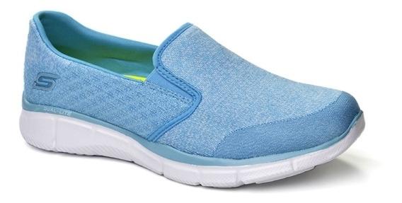 Tênis Skechers Feminino Azul - R12182
