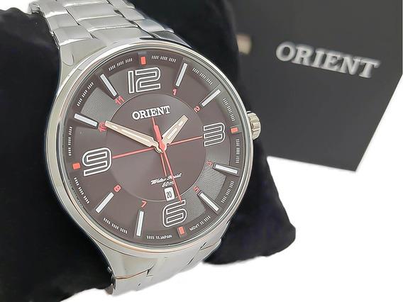 Relógio Masculino Social Orient Mbss1306 Original Nf-e Aço