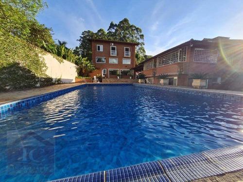 Excelente Casa Com Piscina De Alto Padrão!!!! - Ca1383