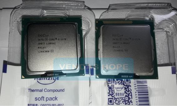 Intel Core I5 3570 3.4ghz 3.8ghz 1155 + Pasta( Fotos Reais)