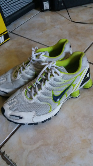 Nike Shox Turbo Iv Branco/verde