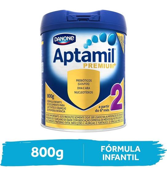Aptamil Premium 2 Fórmula Infantil Lata 800g