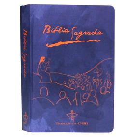 Bíblia Sagrada Cnbb Capa Dura -azul