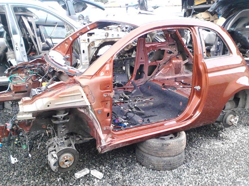 Fiat 500 Sucata Para Vender Peças