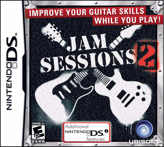 Jogo Ds Nintendo Jam Sessions 2 Original