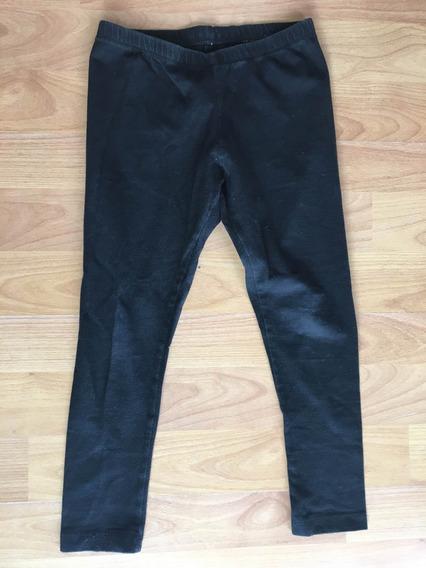 Leggings Negro De Niña Lima Limón Talla 6