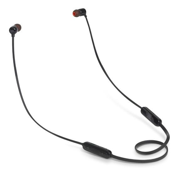 Fone De Ouvido Jbl Tune T110bt Bluetooth Com Microfone-preto