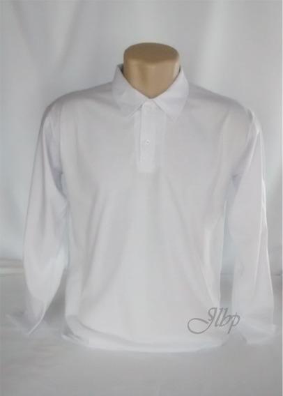 Camisa Polo Masculino Manga Longa
