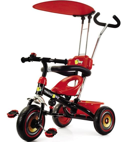 Triciclo Andador Infantil Bfun Con Techo Desmontable Cuotas