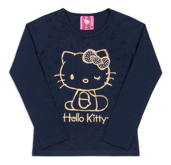 Blusa Bebê Estampada Hello Kitty