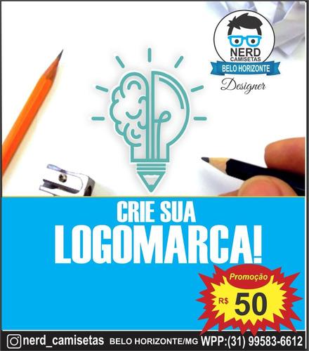 Imagem 1 de 1 de Crie Sua Logomarca Logotipo 24h