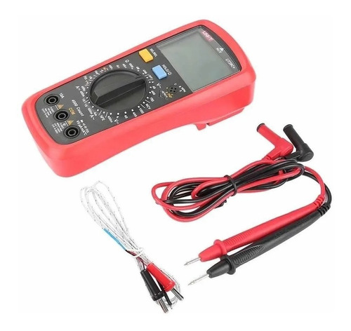 Tester Multímetro Digital Unit Data Hold Buzzer Temperat