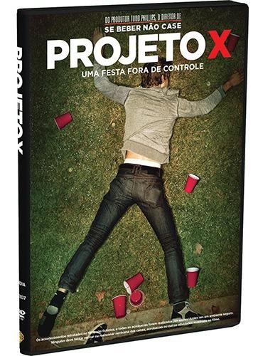 Dvd Projeto X Uma Festa Fora De Controle