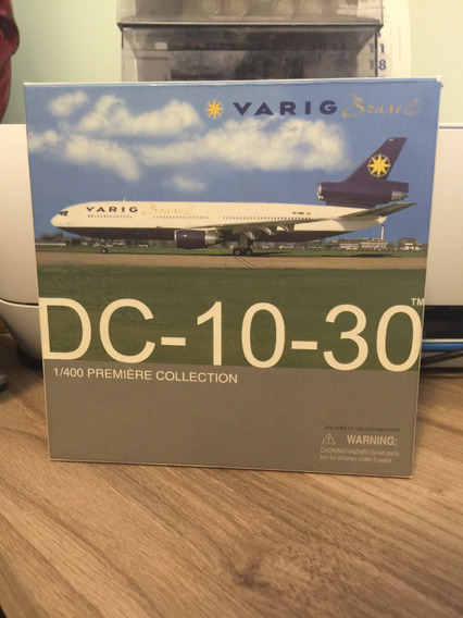 Miniatura Avião Dragon Wings 1/400 Varig Dc-10-30