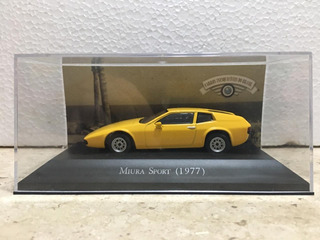 Miniatura Miura Sport 1977 - Carros Inesqueciveis Do Brasil