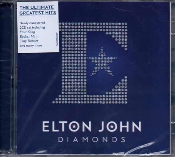 Cd Elton John - Diamonds Cd Duplo