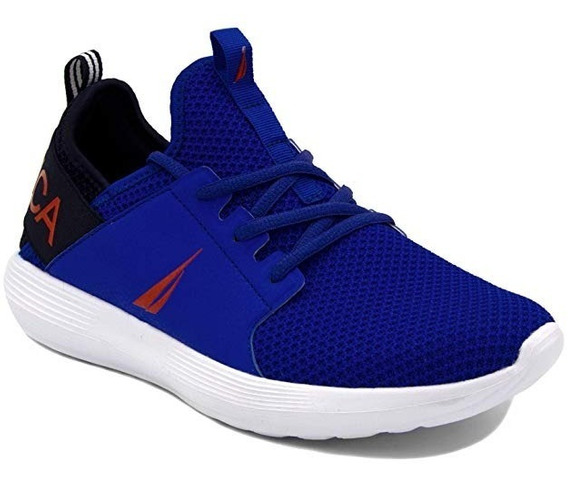 Nautica Lace Up Sneakers Fashion Tenis Casuales 27.5 Mex