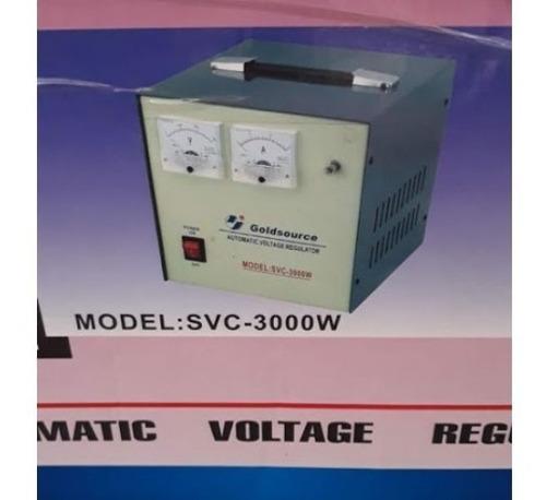 Regulador De Voltaje De 3 Kilos Watt