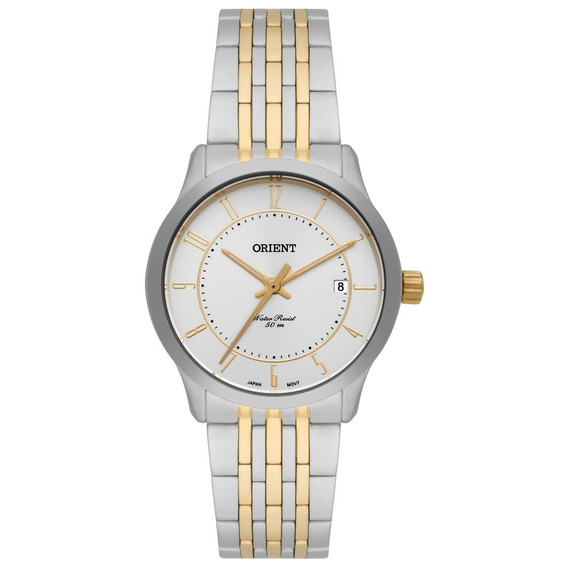 Relógio Feminino Orient Prateado Analógico Ftss1088
