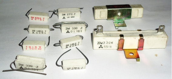 Resistor De Porcelana Kit 10 Peças - Leia! #3