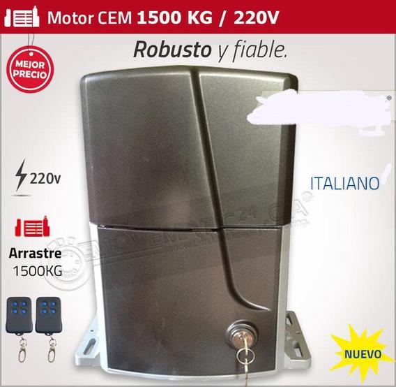 Motor Para Porton Eletrico De 1500 A 2000 Kg Italiano Nuevos