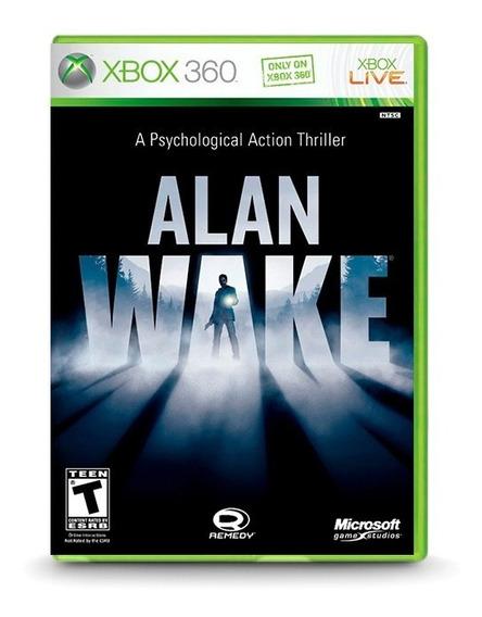 Alan Wake - Original Para Xbox 360 Novo