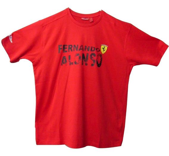 Camiseta Ferrari, Piloto Fernando Alonso