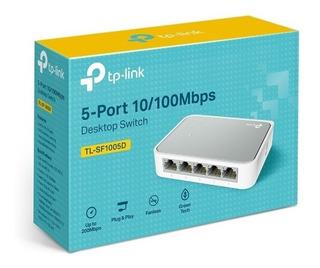 Tp-link Switch 5 Puertos 10/100 Tl-sf1005d