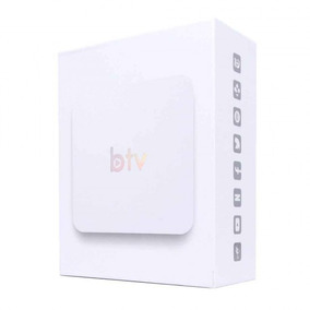 Super Box Media Streming Controle Branco Btv X Bx B10 Novo