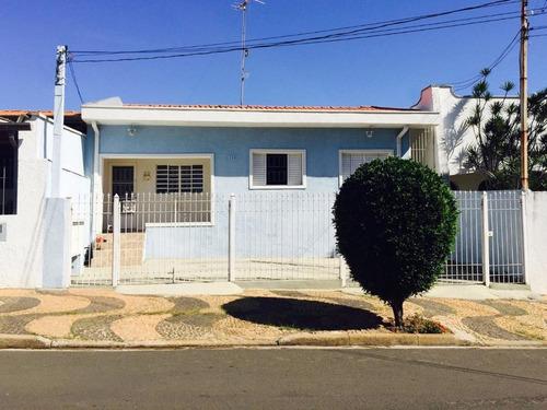Casa Residencial À Venda, Jardim Bela Vista, Campinas. - Ca6789
