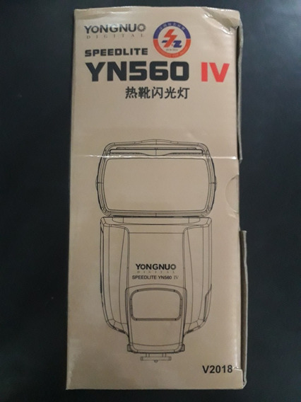 Flash Yongnuo Yn560-iv Novo