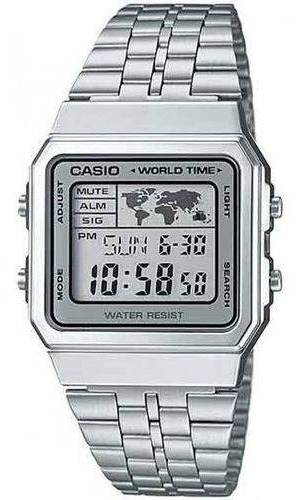 Relógio Casio Vintage World Time A500wa-7df