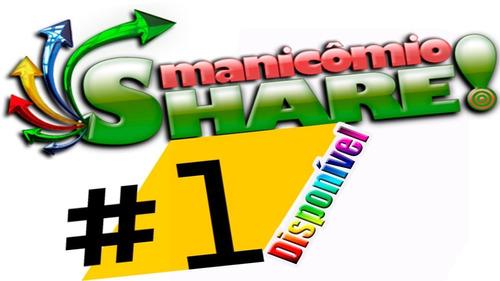 Imagem 1 de 3 de Convite Manicomio-share * Pronta Entrega * 100% Seguro