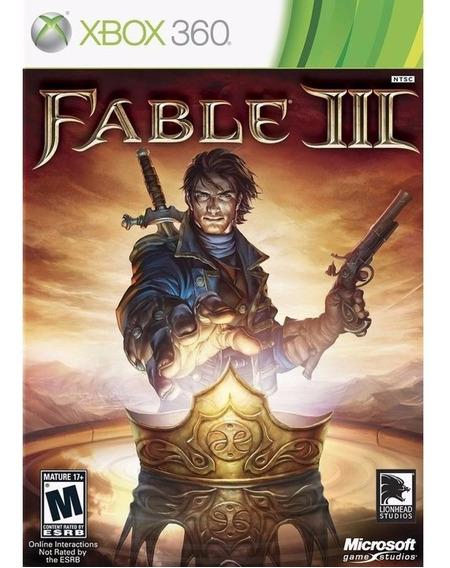 Jogo Fable 3 - Xbox 360 - Midia Física