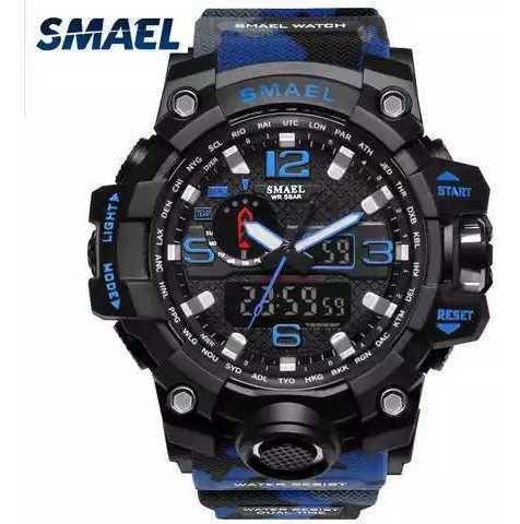 Relógio Smael 1545 Militar Shock Original