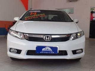Honda Civic Lxr 2.0 16v Flex, Bancos Em Couro, Ekh5728