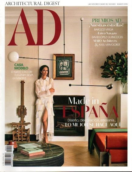 Ad España - 2 Revistas De Decoração & Design