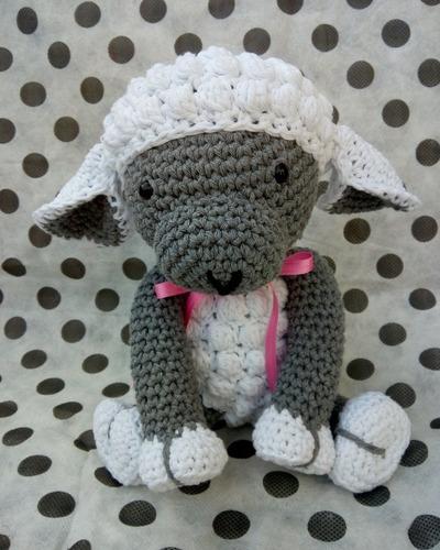 Muñeco De Apego Amigurumi Crochet Bebes Y Niños