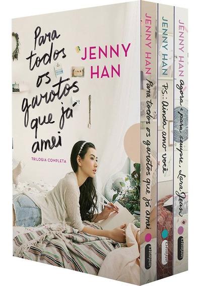 Box Livros - Trilogia Para Todos Os Garotos Que Já Amei
